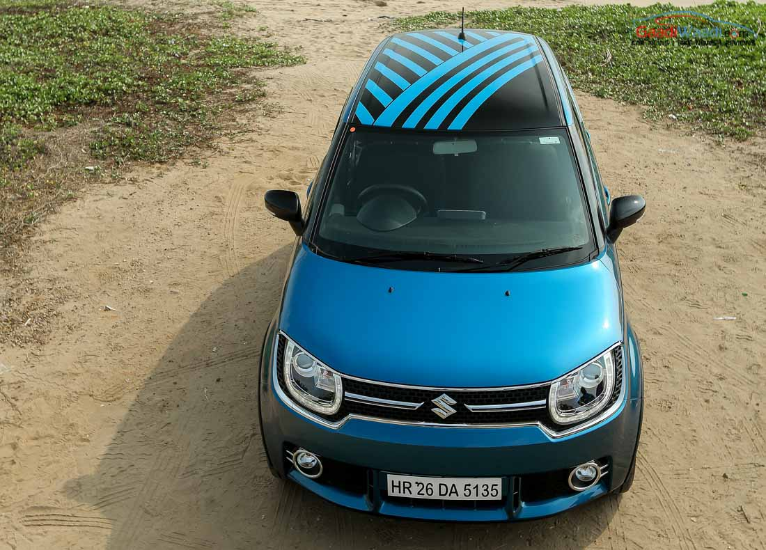 Maruti suzuki ignis india price