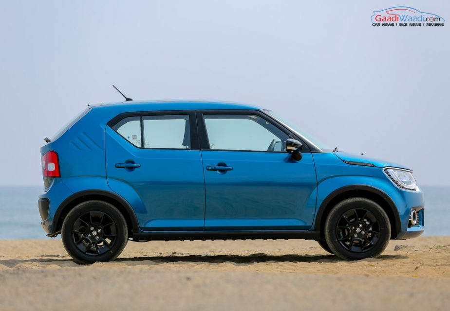 all new maruti suzuki ignis price specs pics features interior. Black Bedroom Furniture Sets. Home Design Ideas