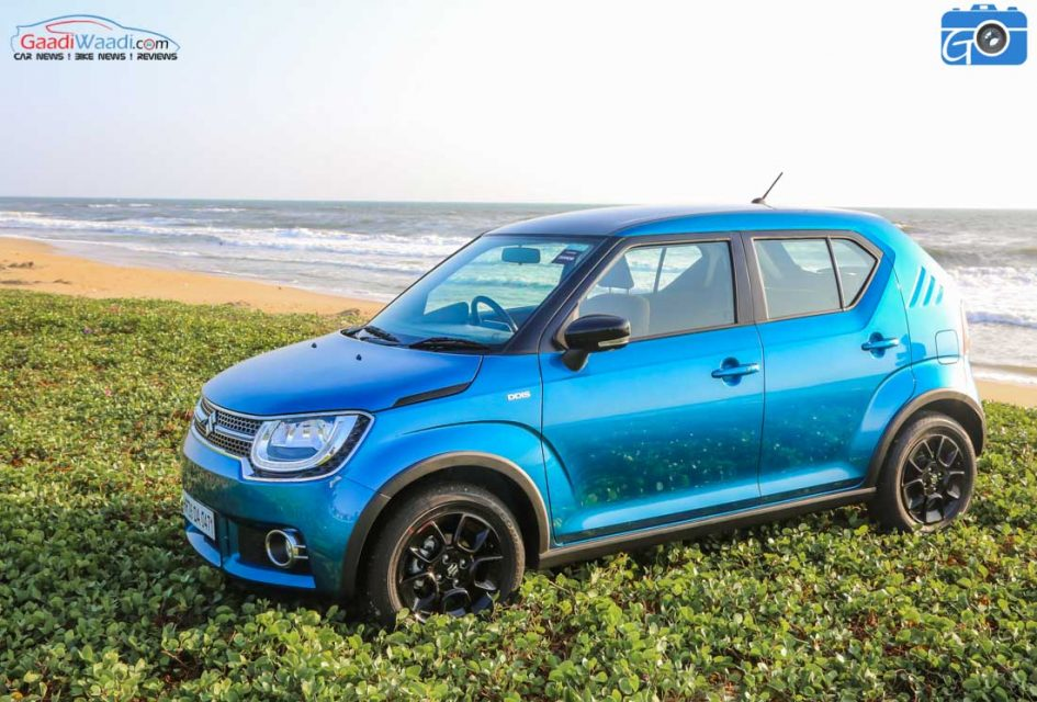 maruti suzuki ignis test drive review13