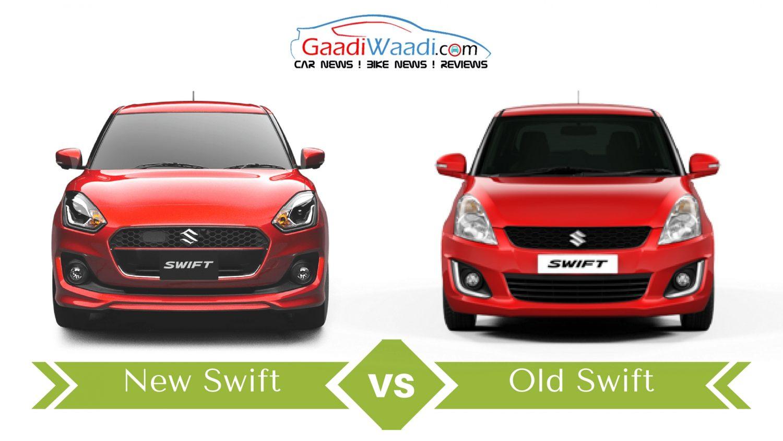 New Maruti Suzuki Swift vs Old Maruti Suzuki Swift – Specs Comparison