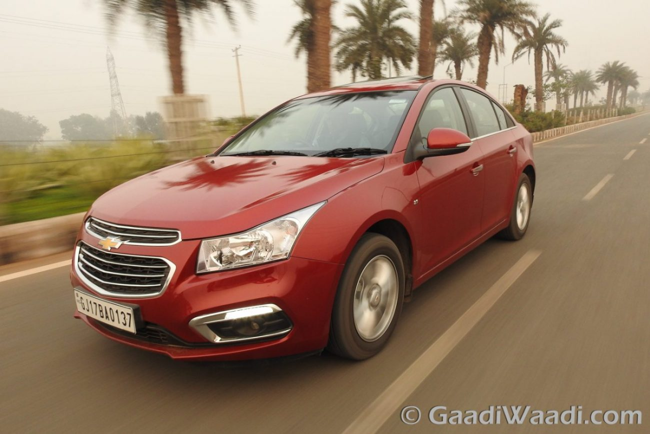Chevrolet Cruze Price Now Starts At Rs 9 99 Lakh Offered With Huge