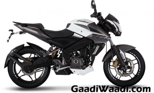 2017 Bajaj Pulsar NS200 Launched India Mirage White Colour
