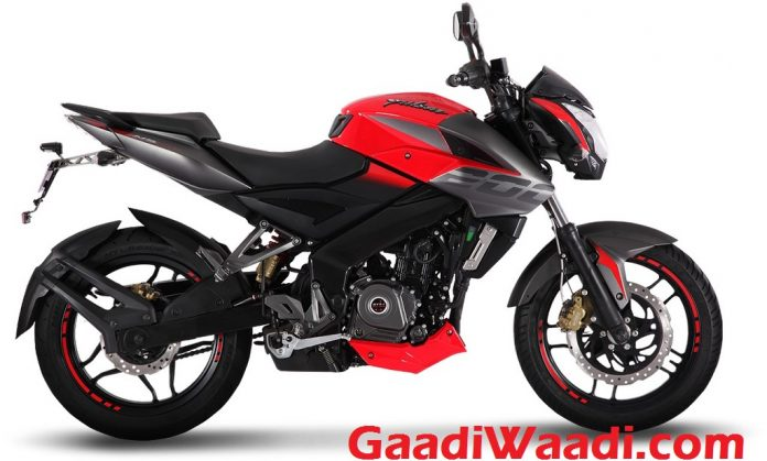 2017 Bajaj Pulsar NS200 Launched India Wild Red Colour