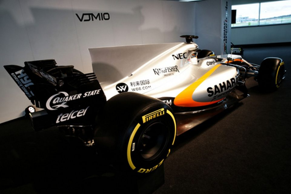 2017 Force India VJM10 F1 Car 2