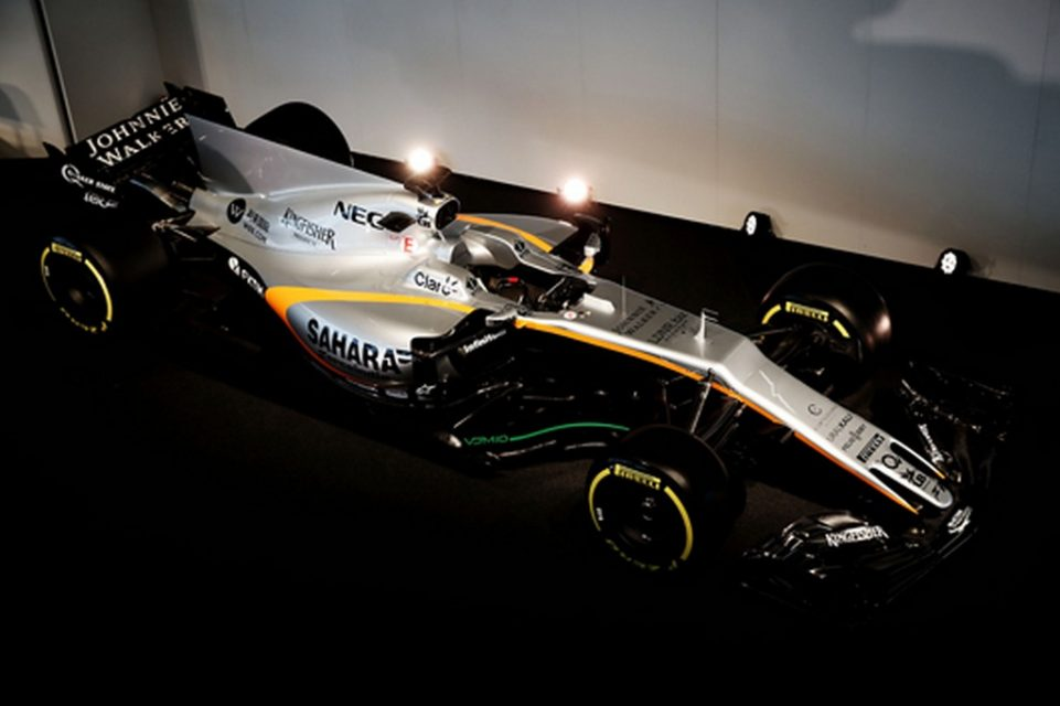 2017 Force India VJM10 F1 Car 3