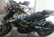 2017 KTM Duke 200 Spied Ahead of India Launch 5