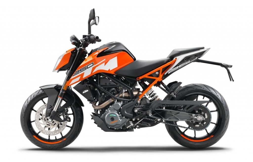 all new 2017 ktm duke 250 launched in india at rs. 1.73 lakh