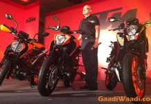 2017 KTM Duke 390, 2017 KTM Duke 250, 2017 KTM Duke 200 India Launch 10
