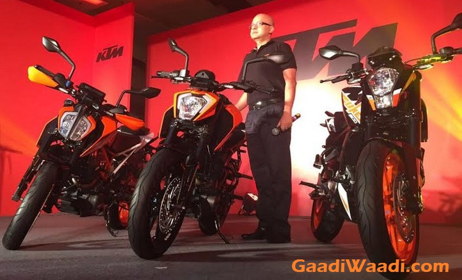 2017 KTM Duke 390, 2017 KTM Duke 250, 2017 KTM Duke 200 India Launch 10