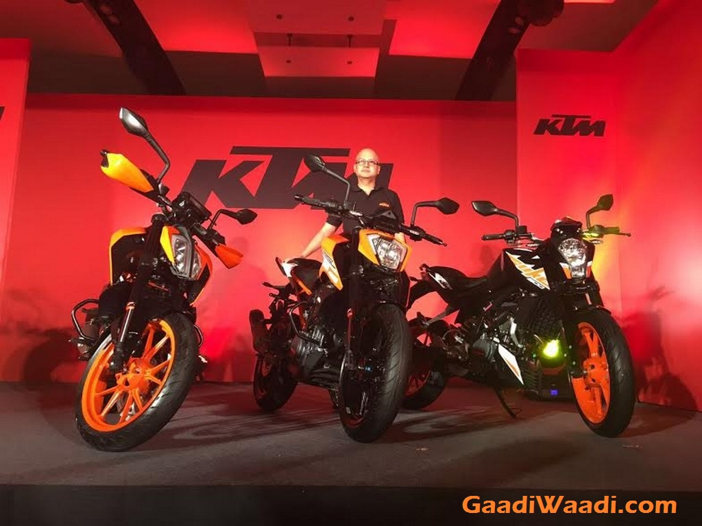 2017 KTM Duke 390, 2017 KTM Duke 250, 2017 KTM Duke 200 India Launch 15