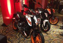 2017 KTM Duke 390, 2017 KTM Duke 250, 2017 KTM Duke 200 India Launch 5