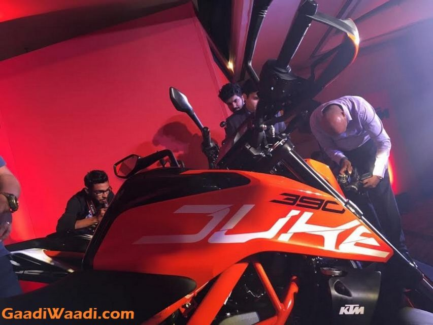 2017 KTM Duke 390, 2017 KTM Duke 250, 2017 KTM Duke 200 India Launch 7