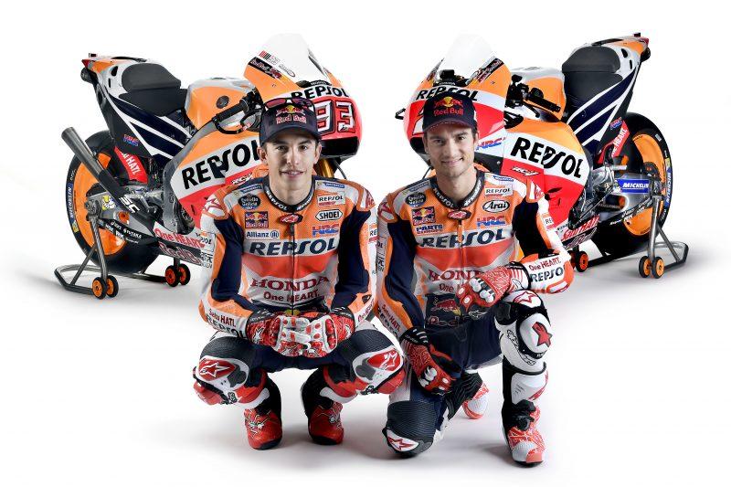 2017 Repsol Honda MotoGP Team Marc Marquez