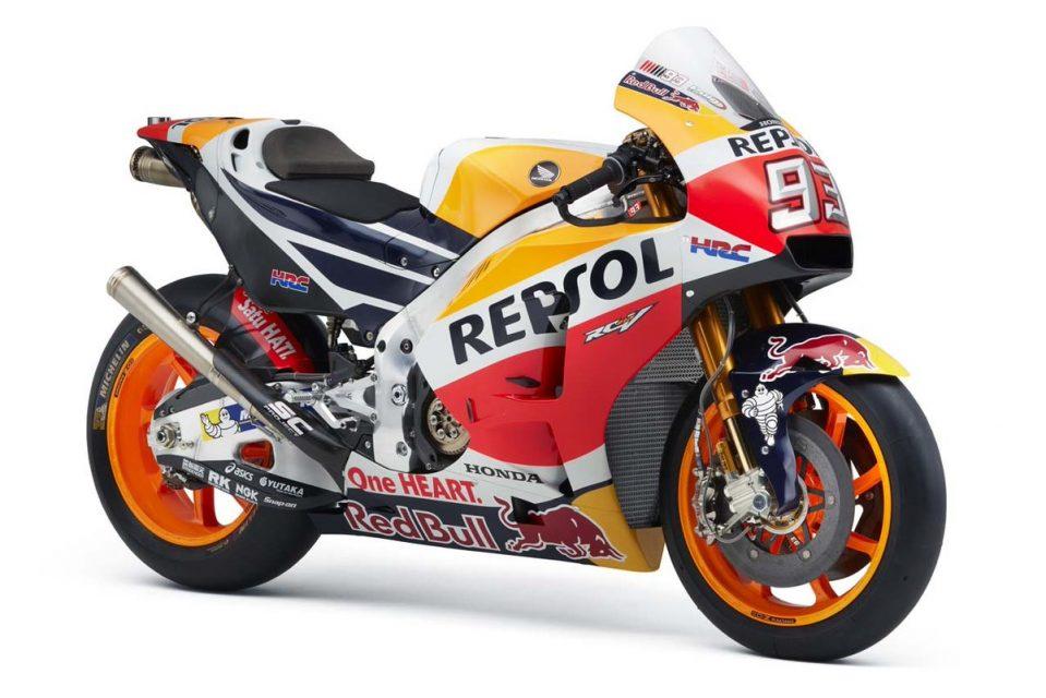 2017 Repsol Honda MotoGP Team Presented Officially, RC213V Race Bike ...