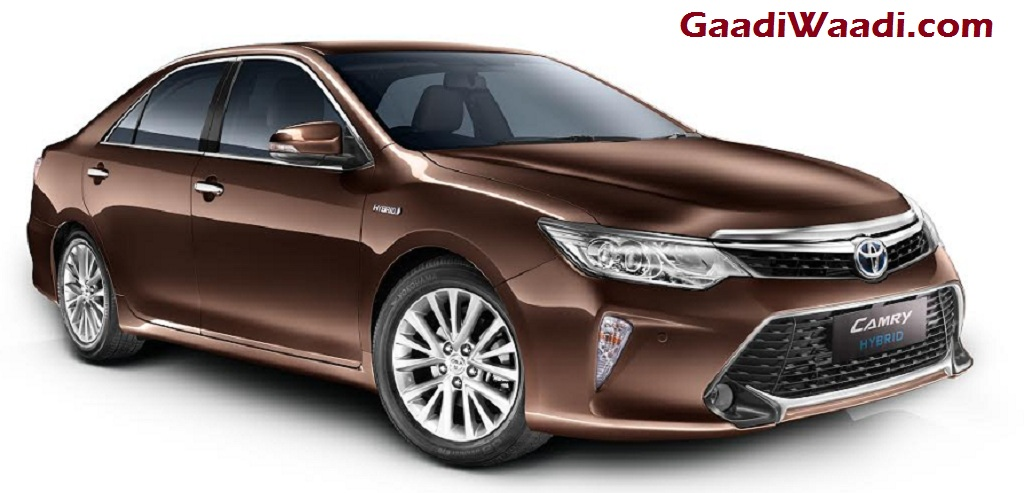 2017 Toyota Camry Hybrid India Launched