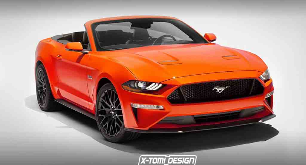 2018 Ford Mustang Gt Convertible Imagined Looks Absolutely Stunning