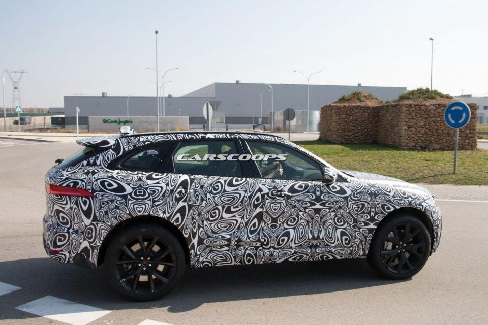 2018 Jaguar F-Pace SVR Spied 3