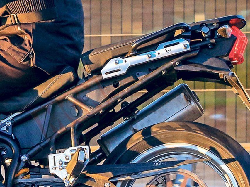 2019 Triumph Tiger 800 Adventure Bike Spied 2