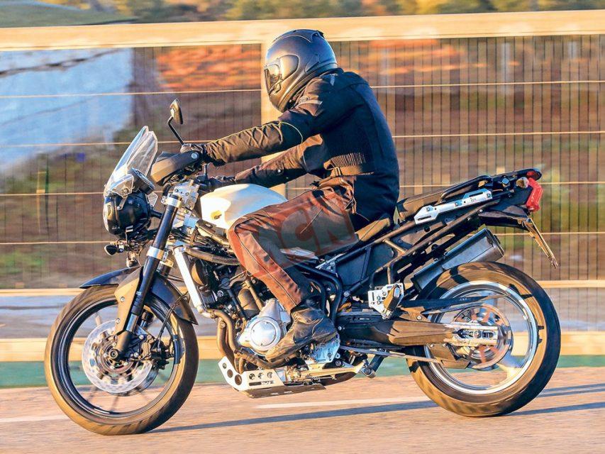 2019 Triumph Tiger 800 Adventure Bike Spied