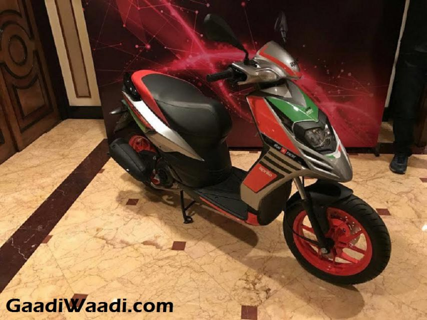 Aprilia SR 150 Race Edition Launched in India 1