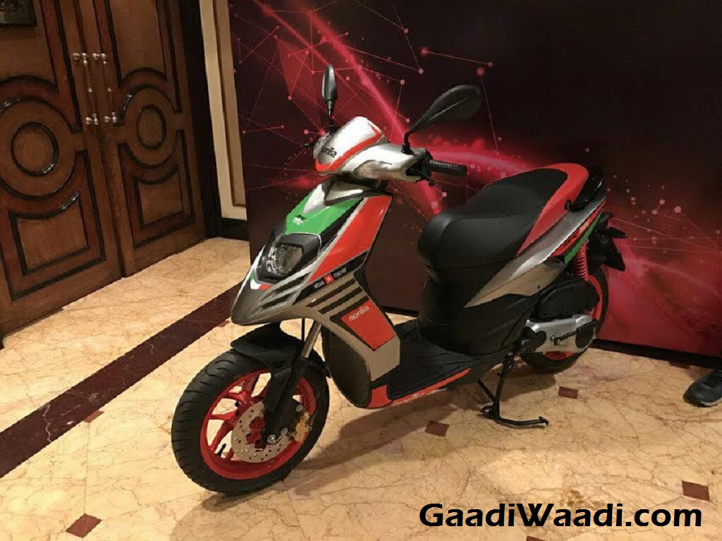 Aprilia SR 150 Race Edition Launched in India