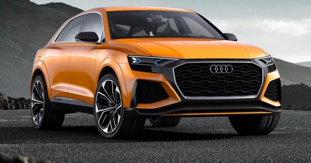 Audi Q8 Sport Concept previews Audi SQ8 4