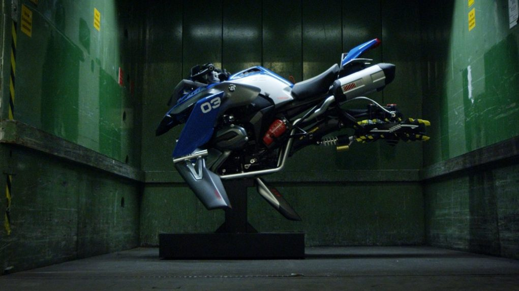 BMW Lego Technic Hover Bike 6