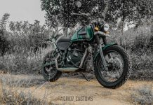 Customised Royal Enfield Himalayan 9