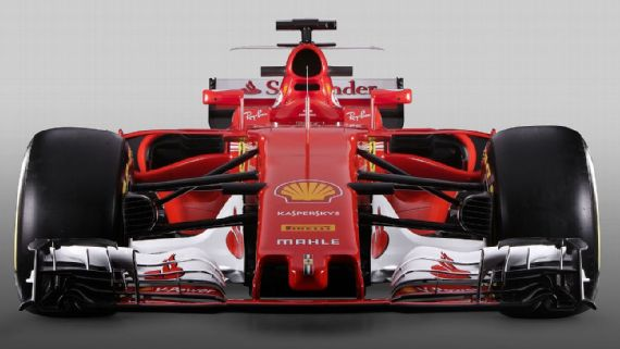 Ferrari SF70H 2017 F1 Car 1