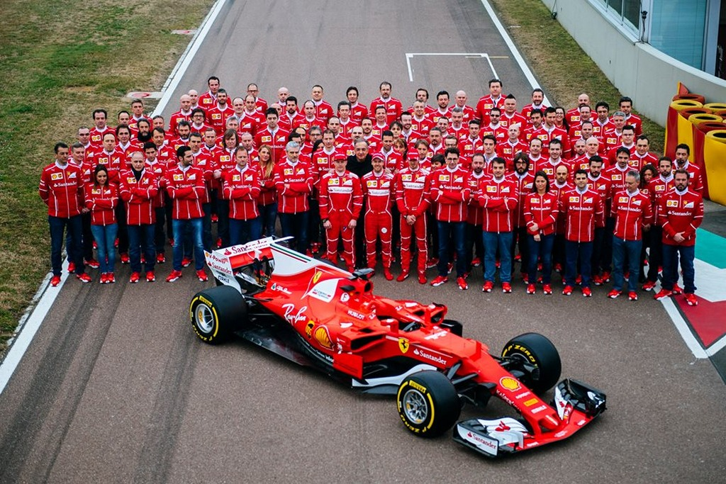 Ferrari Sf70h Graces Fiorano As New F1 Season Heats Up