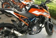 2017 KTM Duke 250 spotted in India