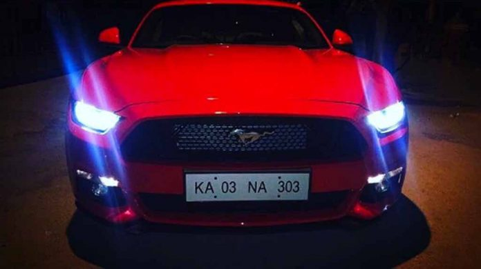 Cricketer Karun Nair Buys Ford Mustang