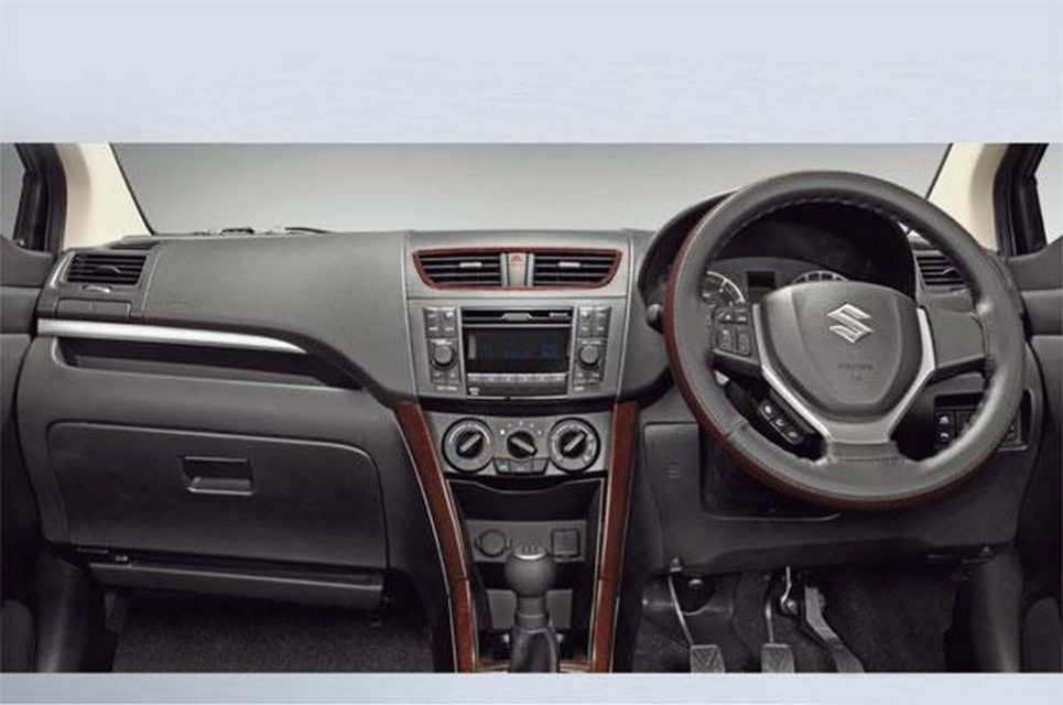 Maruti Suzuki Ertiga Limited Edition interiors