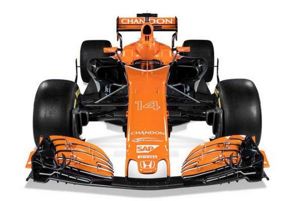 McLaren Honda MCL32 2017 F1 Car 1