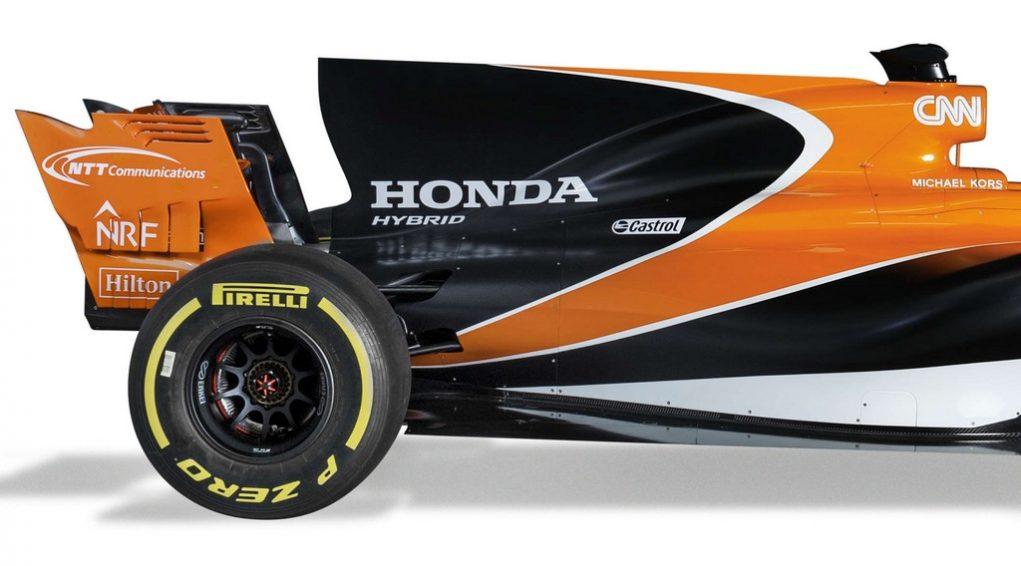 McLaren Honda MCL32 2017 F1 Car 3