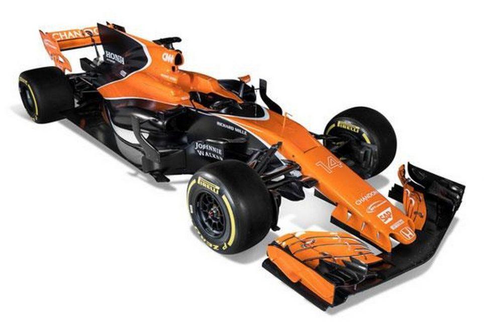 McLaren Honda MCL32 2017 F1 Car