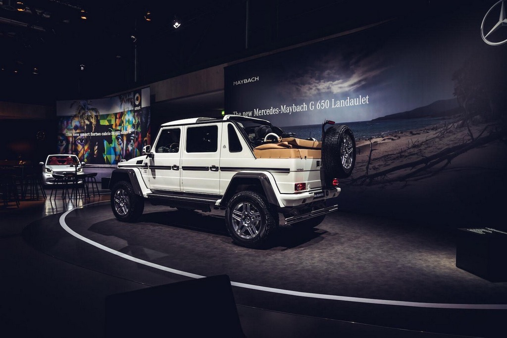 Ultra Luxurious Mercedes Maybach G650 Landaulet Makes
