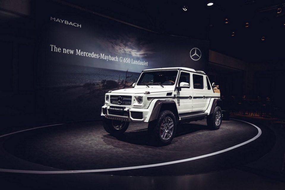 Mercedes G650 Landaulet 3