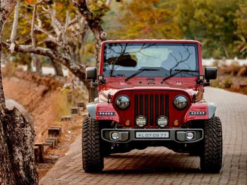 Modified Thar into Jeep Wrangler 1