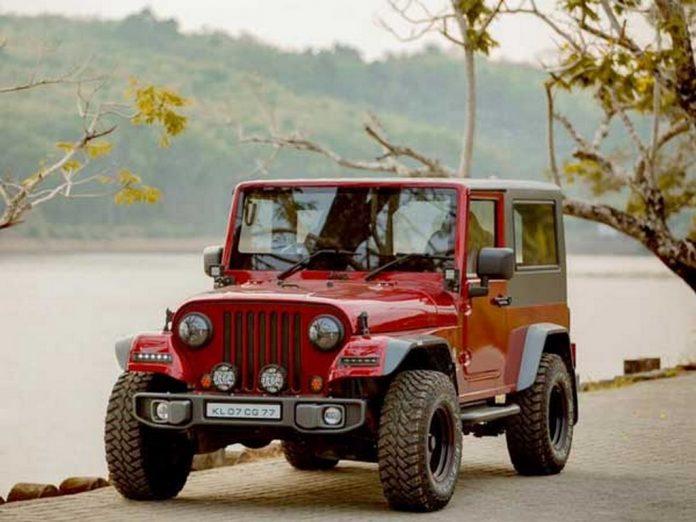 Modified Thar into Jeep Wrangler 2
