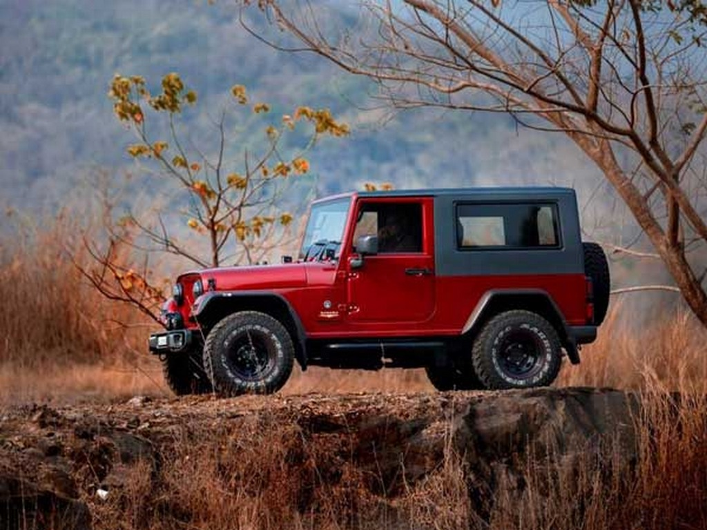 This Customised Thar Is A Drop Dead Gorgeous Replica Of