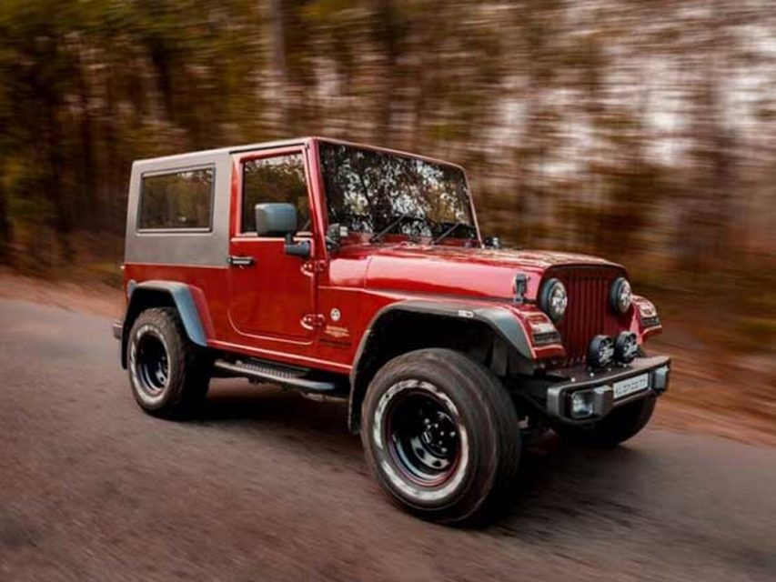 Modified Thar into Jeep Wrangler