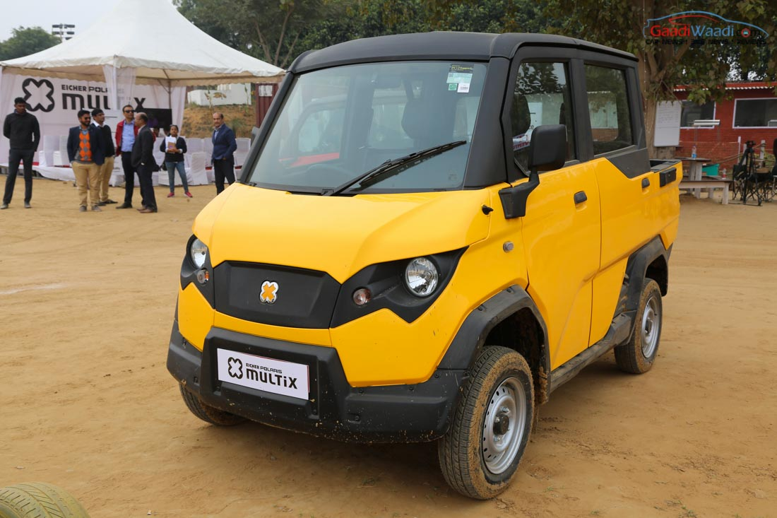 Eicher-Polaris MultiX personal utility vehicle discontinued in India