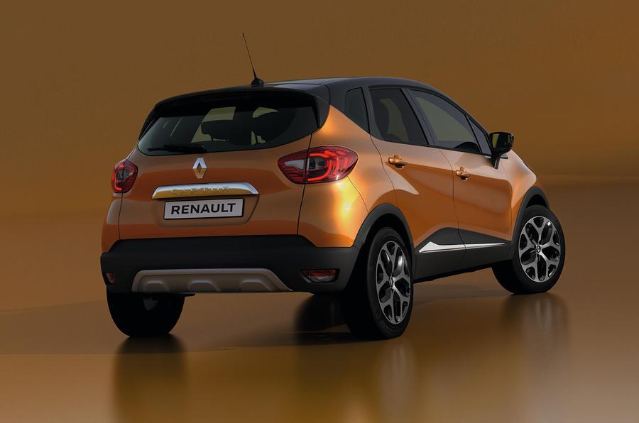Renault Captur Facelift India 1