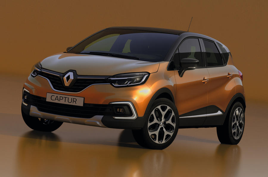 Renault Captur Facelift India