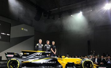 Renault RS17 Formula 1 Car