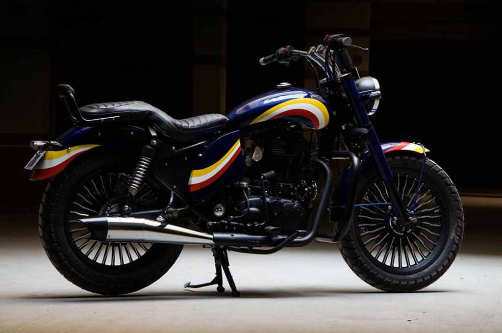 Customised Royal Enfield Classic 350 Zafiro Is Stunningly Awesome