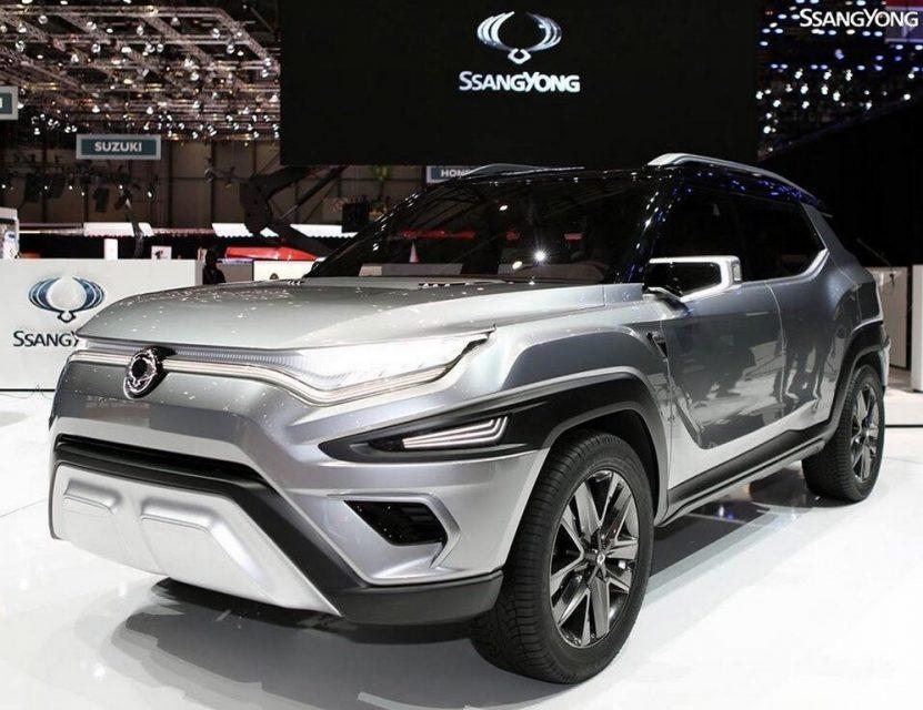SsangYong XAVL concept Mahindra MPV 2
