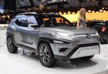 SsangYong unveils XAVL concept Mahindra MPV 1