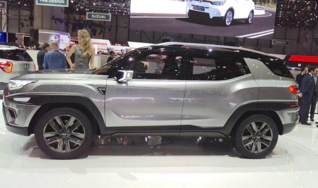 SsangYong XAVL concept Mahindra MPV 4